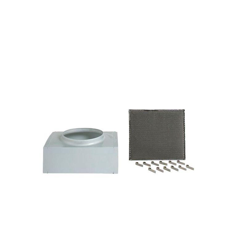 Arietta Recirculating Kit for Dekor Glass 30 in. x 36 in. Range Hoods Using 8 in. Ducting
