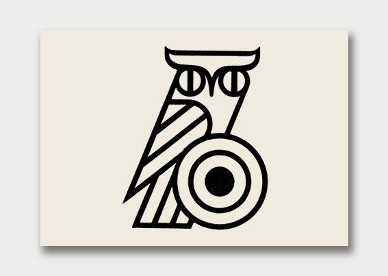 {owl logo} via International Aviary, 1960s/70s: Shooting Club, Modernist Birds Them, 70S Logos, Google Images, Birds Them Logos, Logos Design, Logos Inspiration, Graphics Design, 1960S 70S
