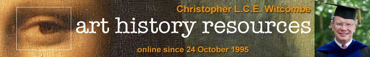 Christopher L.C.E. Witcombe's art history resources. Extensive links are provided on home page.