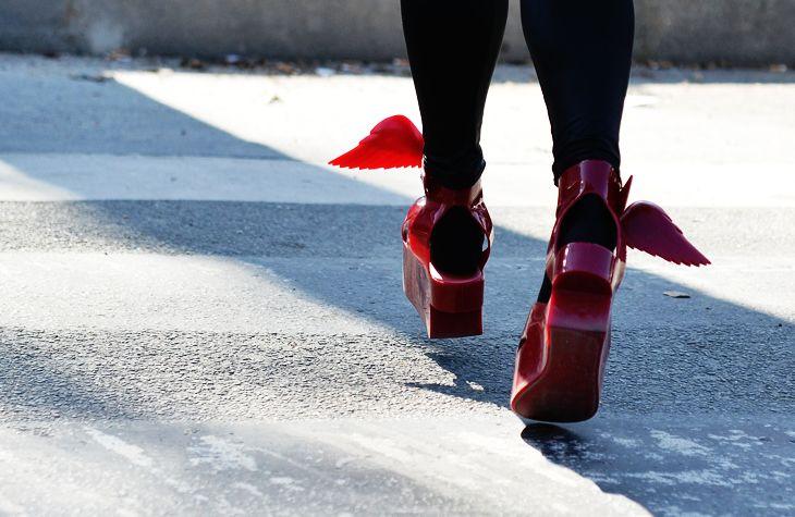 Secret Hipster: Vivienne Westwood Wing Shoes