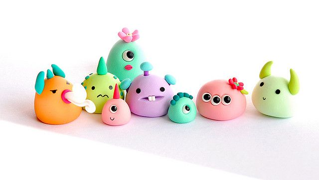 JooJoo Land's monsters.  More sweetness