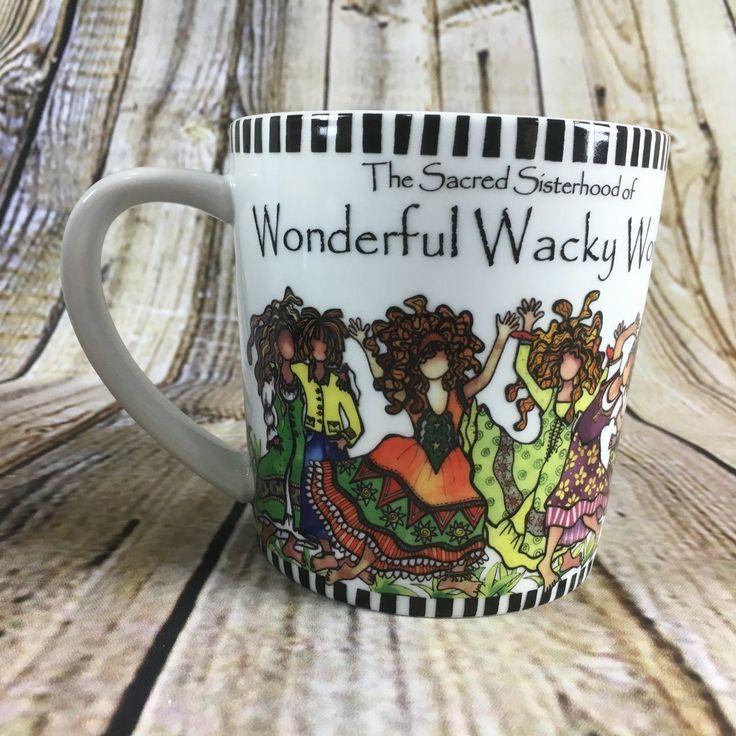 "Suzy Toronto The Sacred Sisterhood Of Wonderful Wack Women 4"" Tall Coffee Mug"