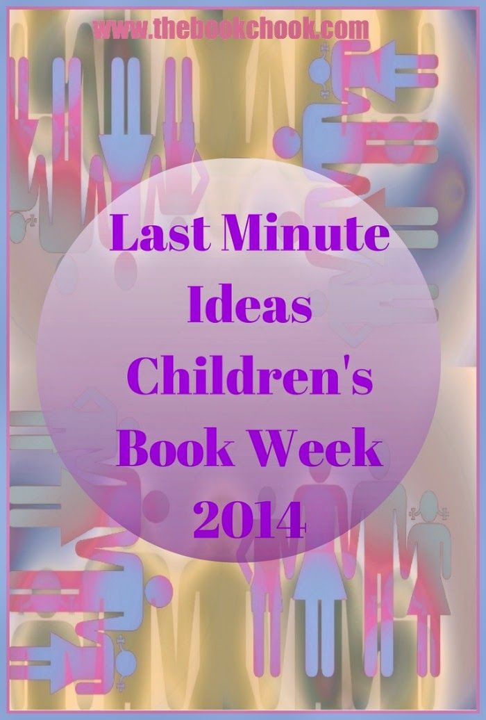 It's not too late to celebrate! Last Minute Ideas for Children's Book Week 2014 - a range of activities for kids, parents and teachers to help children connect to reading