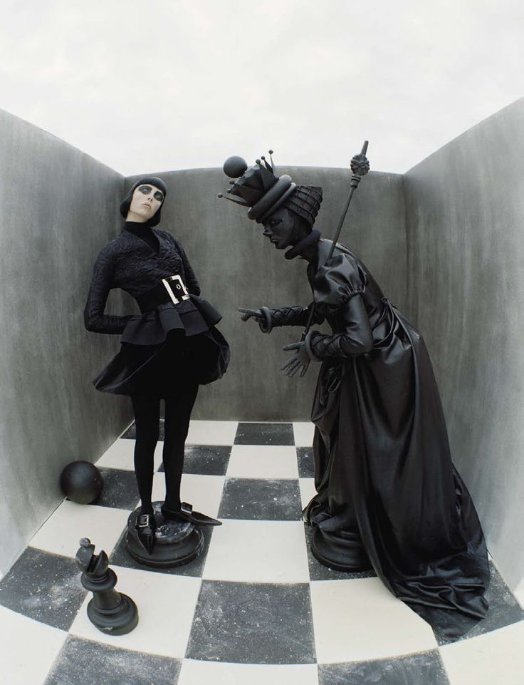 Edie Campbell by Tim Walker fore Vogue Italia December 2015