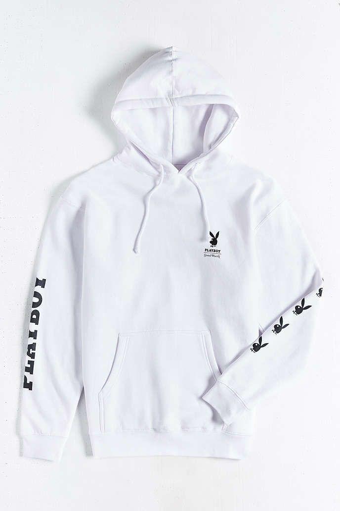 Good Worth X Playboy Bunny Hooded Sweatshirt - Urban Outfitters