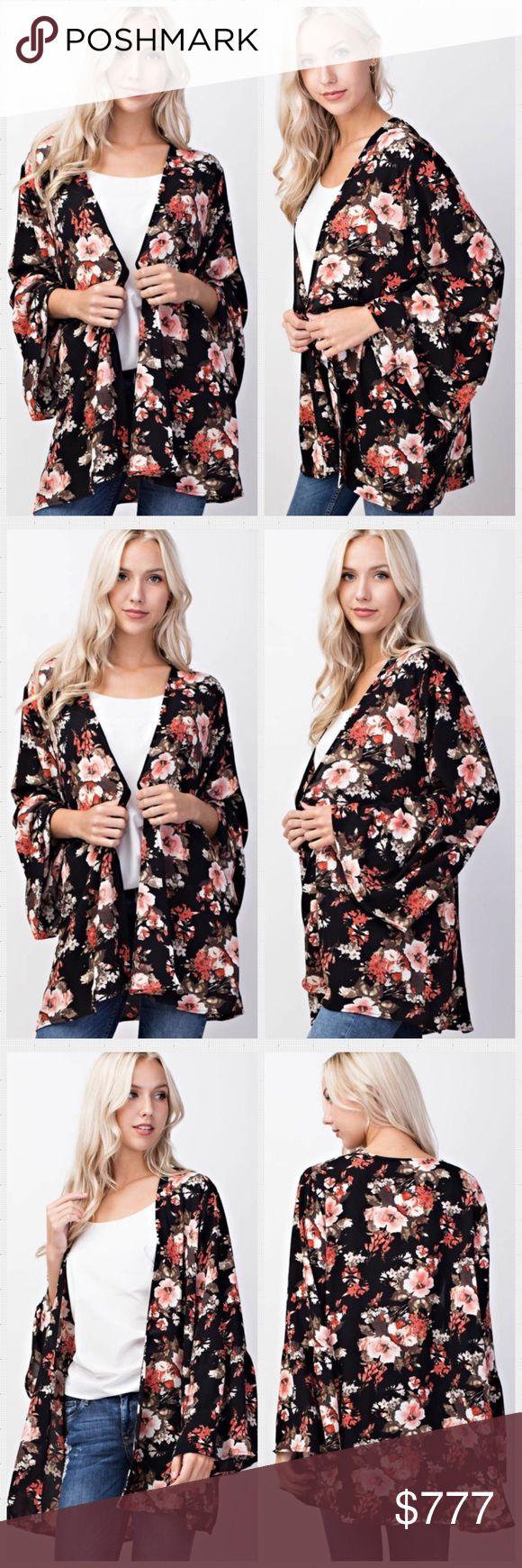 Best 25  Black kimono cardigan ideas on Pinterest | Long kimono ...