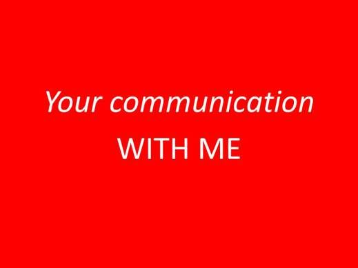 Yourcommunicationwithme FOND D'ECRAN