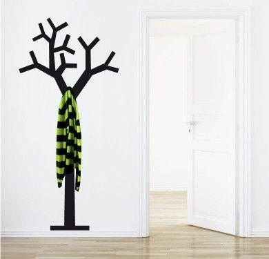 Vinilo perchero arbol - tree hanger - Percheros 3D
