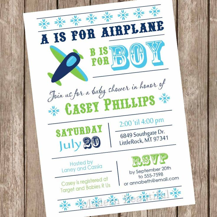 Airplane baby shower invitation, aviation baby shower, aviation invitation, plane baby shower invitation, teal, navy