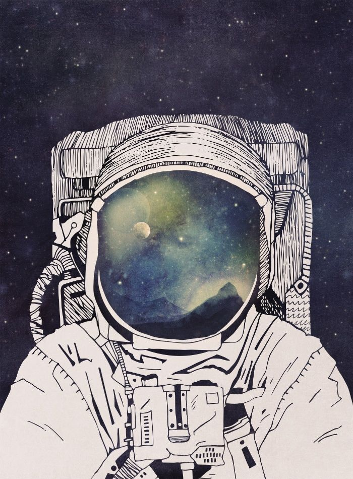 Dreaming Of Space Art Print by Tracie Andrews
