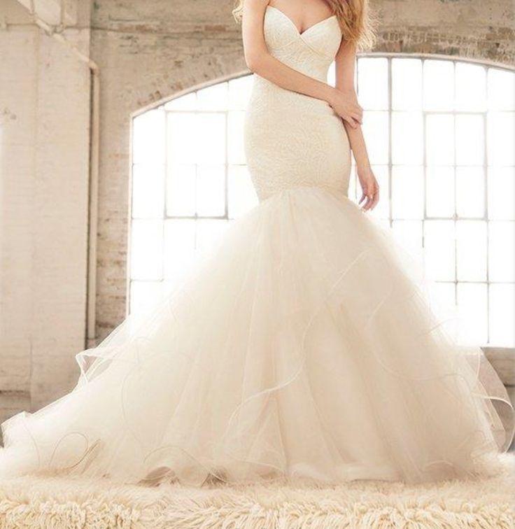 166 besten Wedding Dresses Bilder auf Pinterest   Hochzeitskleider ...