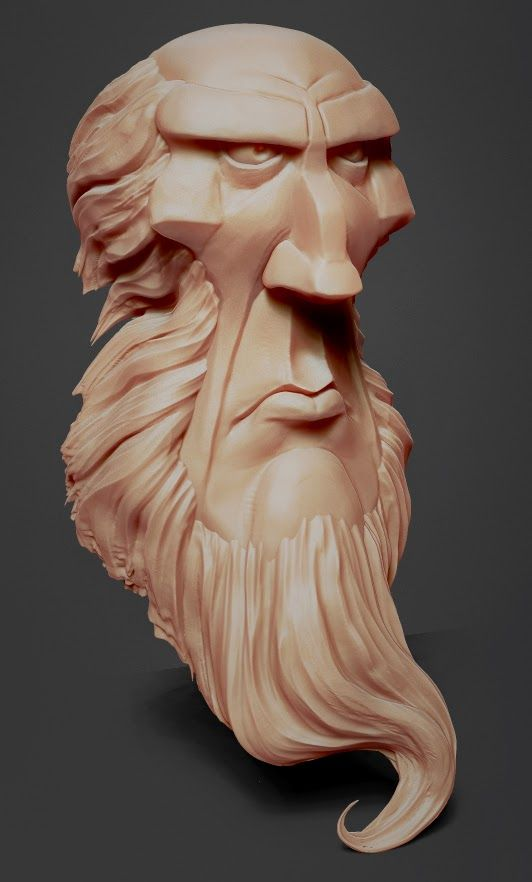 art of Joe Daniels: Kevin Keele sculpt