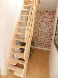 a timber space save staircase was by our joiners with glass gallery landing supported on richard burbidge