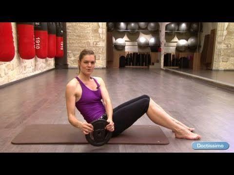 Fitness pour de belles fesses - Doctissimo - YouTube