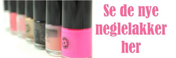 Som noget nyt lancerer Tankestrejf neglelak. Det er skønne lakker i alle farver hjertet begærer. Lakkerne er fremstillet som 5Free, dvs. de er IKKE tilsat toulene, formaldehyd, bly, nikkel eller phthalater. Se alle de lækre farver og lad dig inspirere!