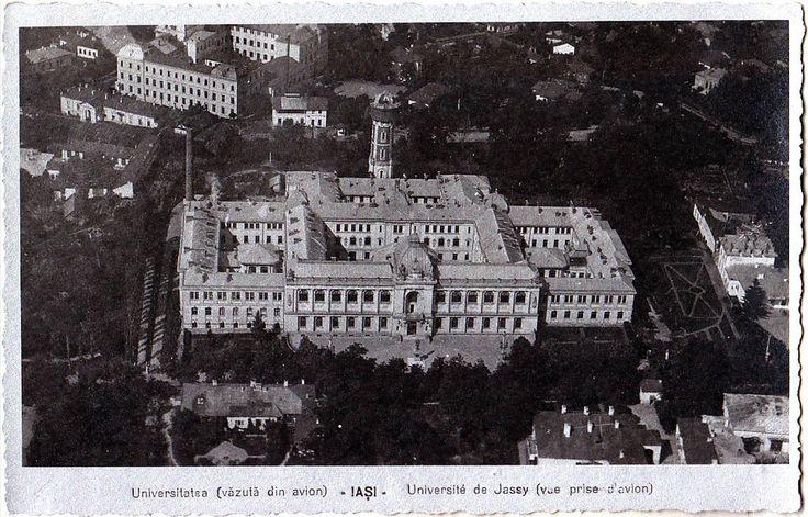 Universitatea din Iași (carte poștală)
