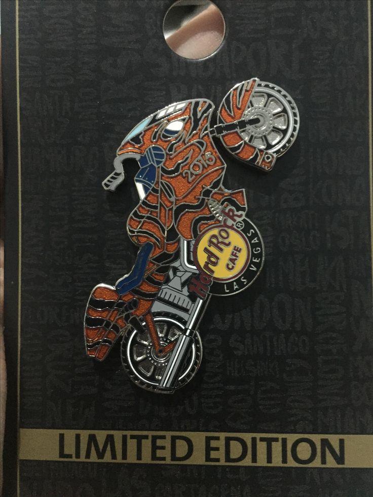Hard Rock Pin USA Las Vegas Limited Edition 2015 HRC Tiger Moto