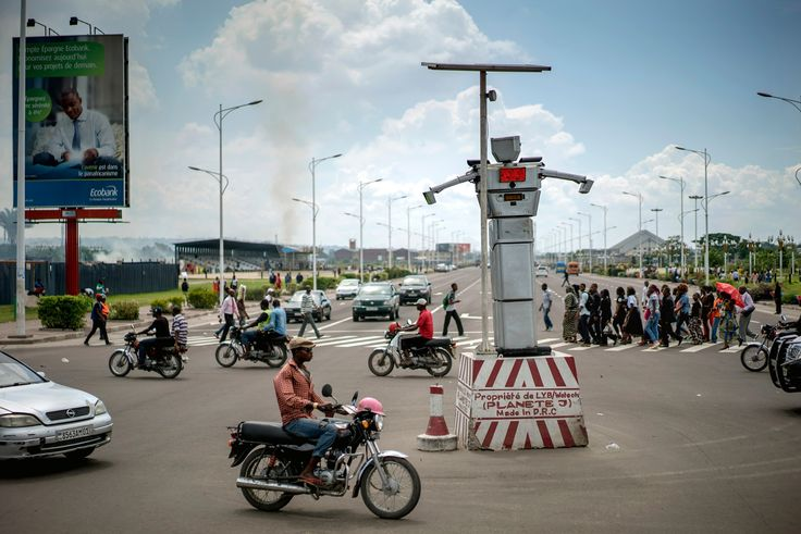 Gridlock has seized Kinshasa. Faced with rising car ownership and a lack of trust in police, city authorities have recruited solar-powered 'robocops' to control the DRC capital's chaotic streets.  via`tko The Guardian