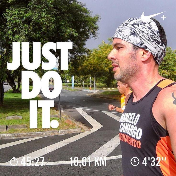 Vale ou não vale bater Record no treino!? Ok vai ... Eu sei que não vale ... Mas que foi meu melhor tempo nos 10k foi!!  . Treino de sábado tá pago!!! . #acordapracorrer #focanacorrida #rwbrasil #marcelocamargotreinamento #correrecompartilhar #brasilrunners #runitfast #euatleta #marathon #vccorrendo #corredoresamigos #viciadosemcorridaderua #endorfina #foco #vidadeumcorredor #vidadeatleta #worlderunners #instarunners #runnerscommunity #runningporai #fb