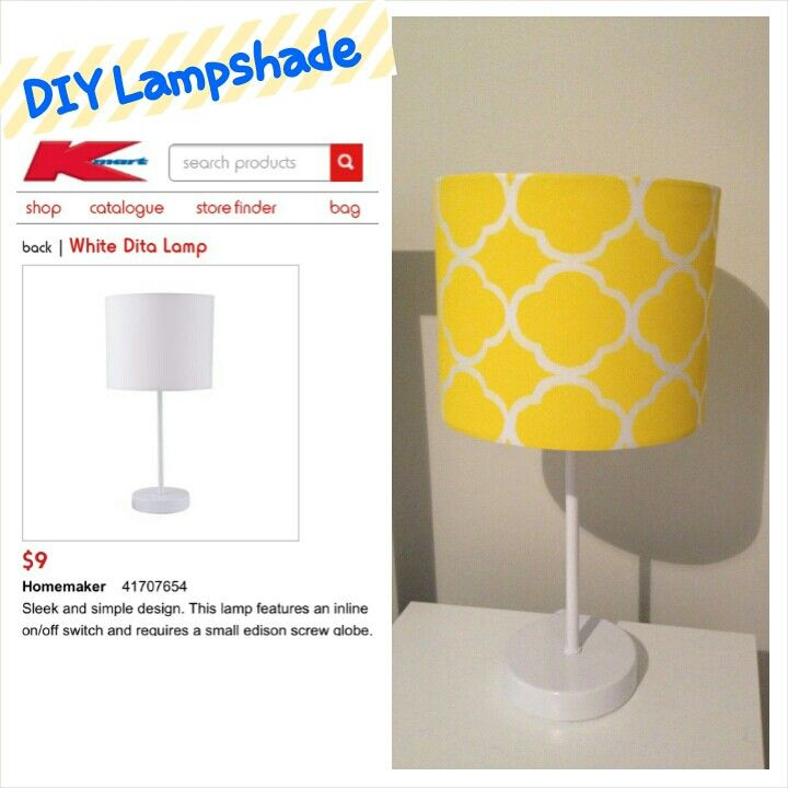 Diy lamp I made from a $9 lamp from Kmart (Australia) and painted using stencils from Riot
