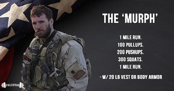 Run 1 mile. Do 100 pull-ups, 200 push-ups, 300 squats. Run another mile. We need a plan to tackle this WOD. Here I give my Murph Strategy & Survival Guide.