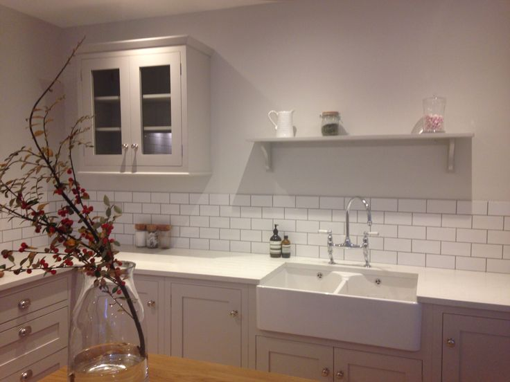 Painted Kitchen | Farrow and Ball | Cornforth White | Chalkhouse Interiors