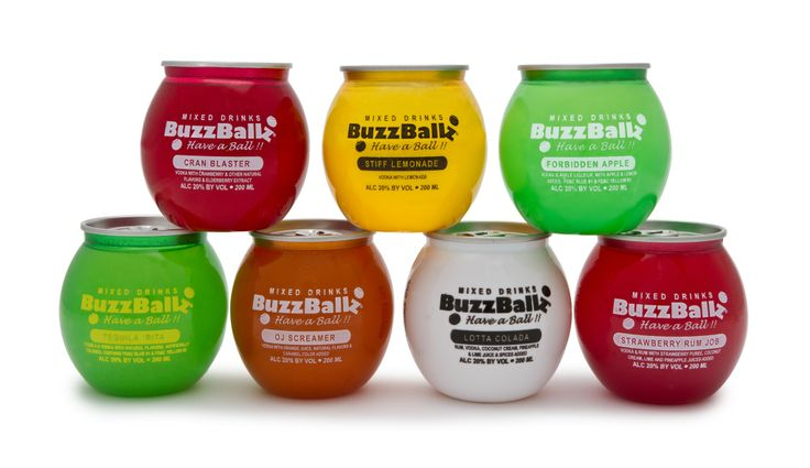 New cocktail brand lets you have a ball, catch a buzz