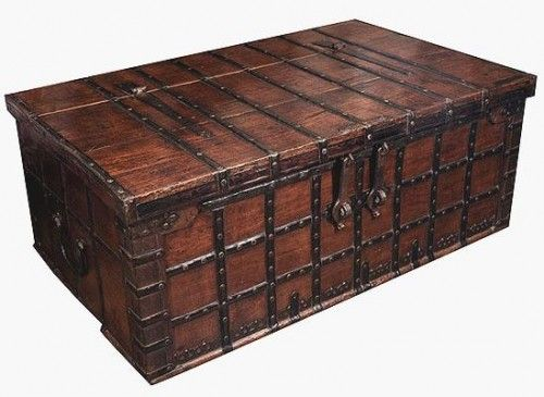Antique Trunk Coffee Table   Google Search