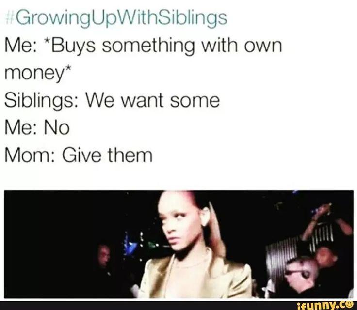 #growingupwithsiblings basically how it goes