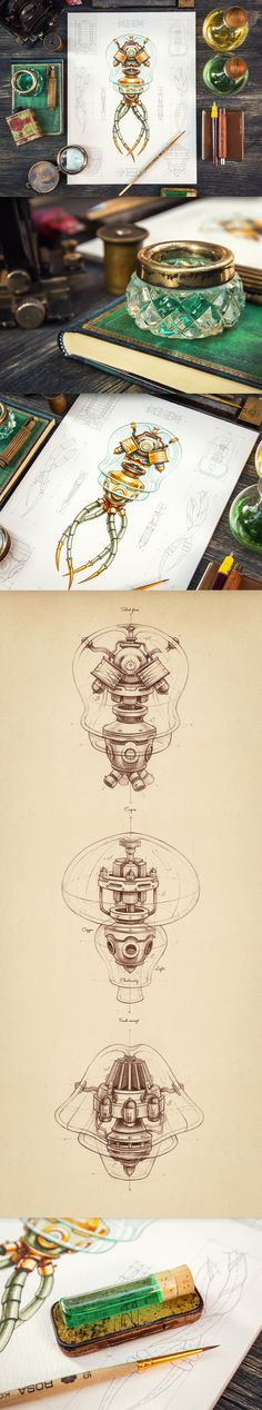 Steam-powered Jellyfish by Mike | Creative Mints