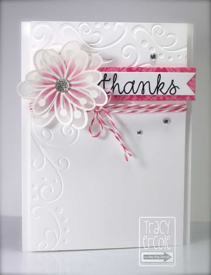 Marvelous Card Making Ideas Using Vellum Part - 14: Created By Tracy: The Alley Way Stamps
