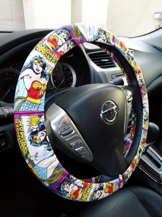 Hey, I found this really awesome Etsy listing at https://www.etsy.com/listing/188295934/handmade-steering-wheel-cover-dc-comics