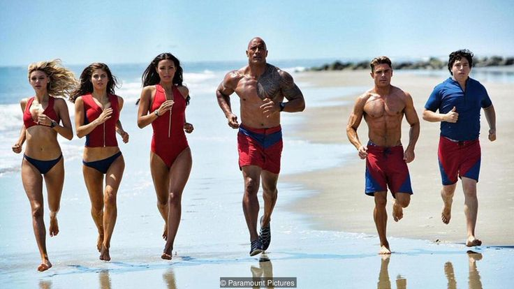 Baywatch David Hasselhoff and Pamela Anderson make cameo appearances in this reboot of the 1990s TV series and Films that turned them into household names.