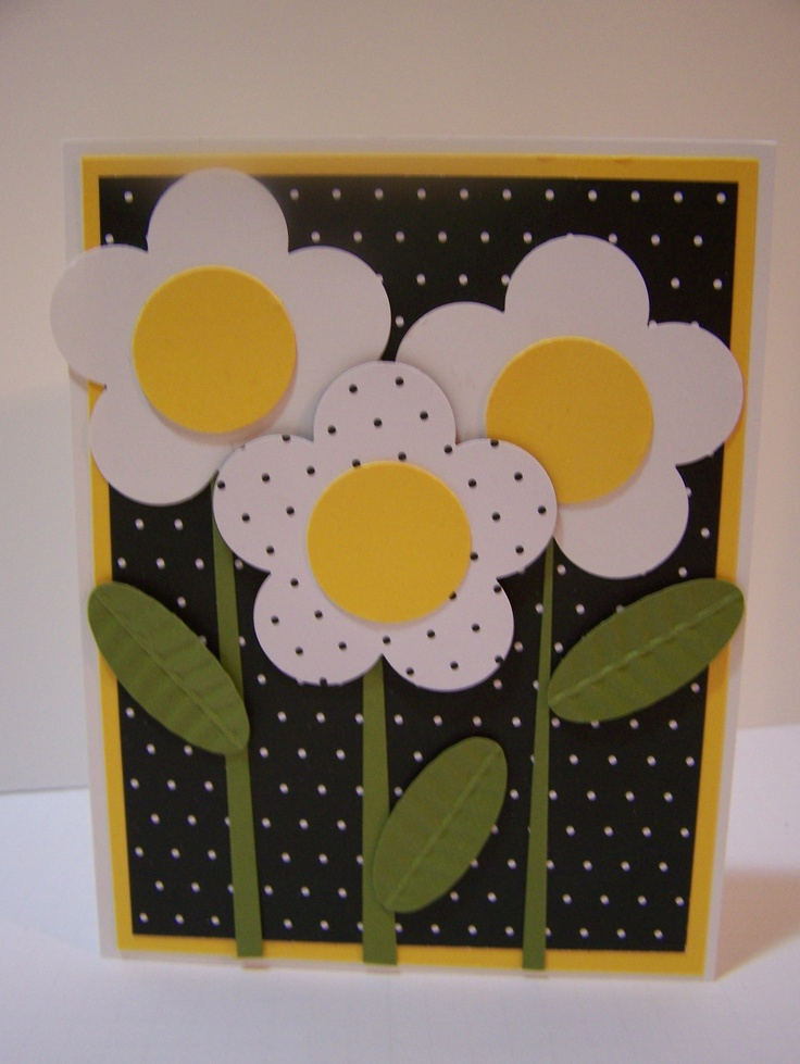 Easy card to make using punches