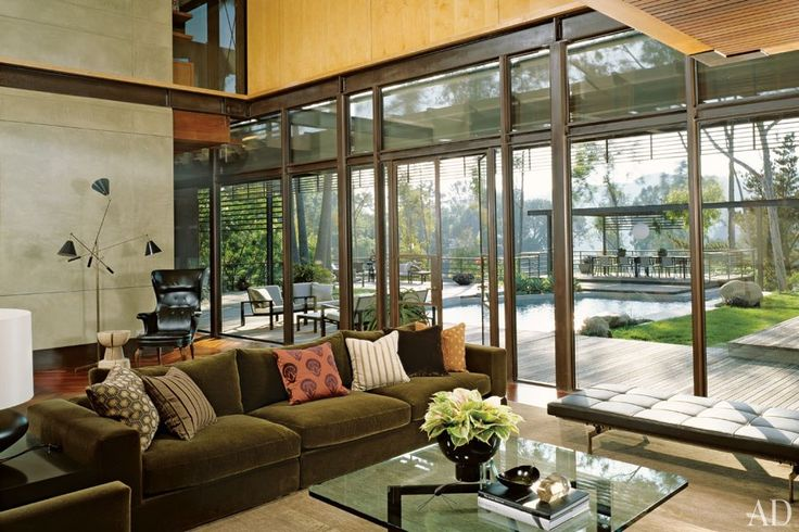 Celebrity Living Rooms : Architectural Digest