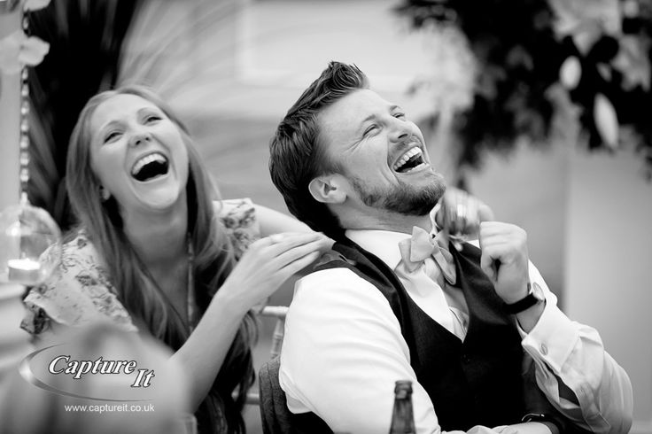 usher and his girlfriend laugh at best mans speech