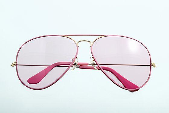 Ray-Ban アビエイター 1980年代 ボシュロム社製 65mm ピンク+ゴールド×ピンク 希少 sun-r08 - アンティーク&オールディーズ オンラインストア