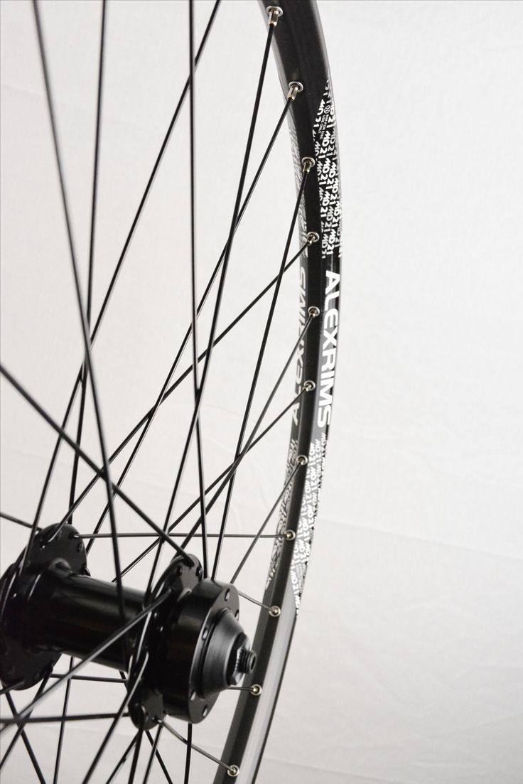 """Disk Front wheel 26"""" 27.5"""" 29"""" Double wall Eyeleted 6 Bolt."""
