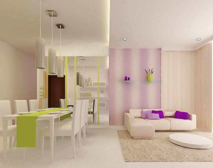 Design Kleine Wohnzimmer Optimal Einrichten Kleines Farbige Deko Akzente Living