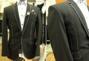 World's most expensive men's suit - Stuart Hughes jewel diamond suit $943,000