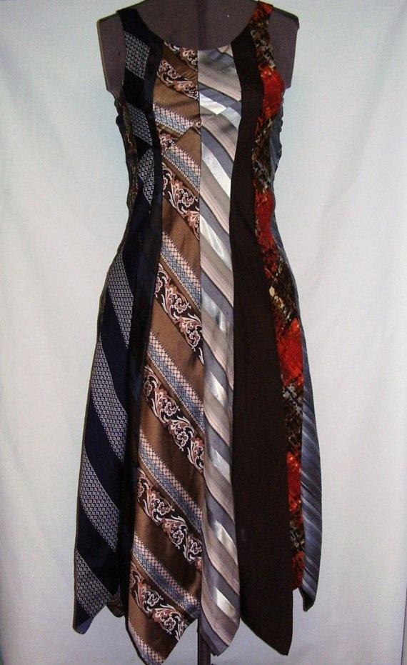 Necktie dress