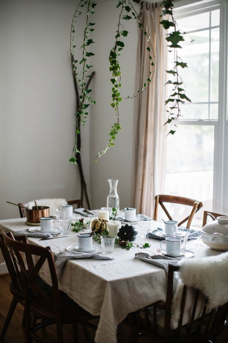 Thanksgiving Tips & Decor - Gardenista Styling By Beth Kirby