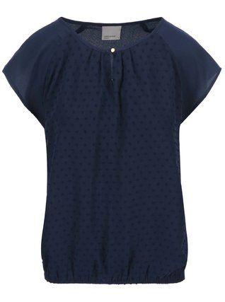 Vero Moda - Tmavě modrý volnější top Moda Dorisa - 1
