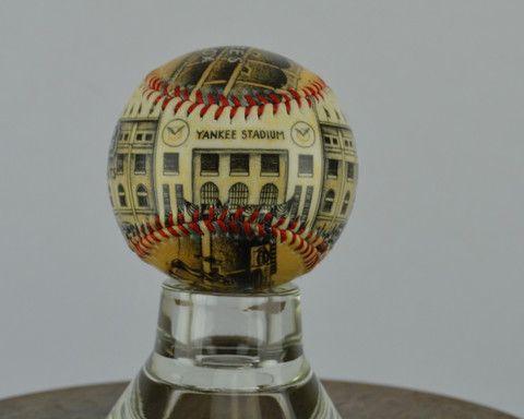 Yankee Stadium Opening Day - Printed Baseball – Sport art by Artsportive