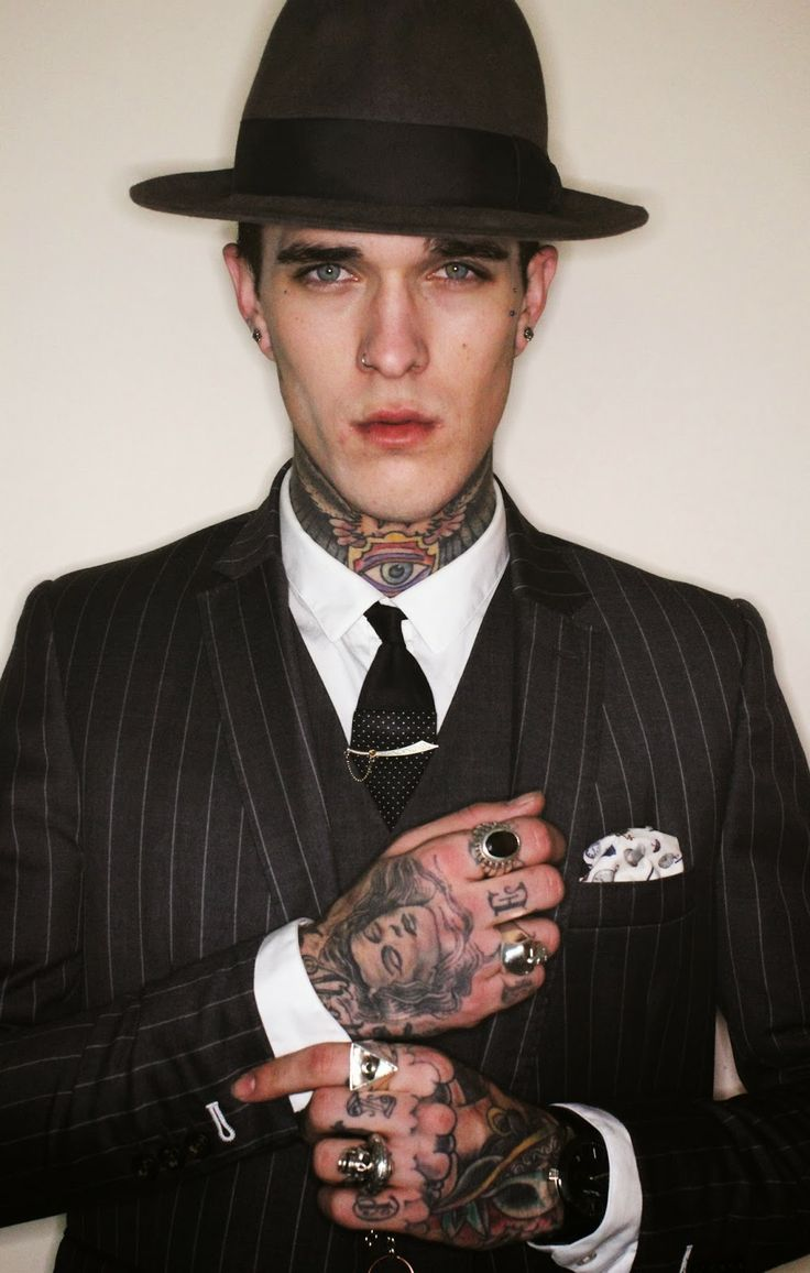 Jimmy Q, the poster guy of suits and tats.