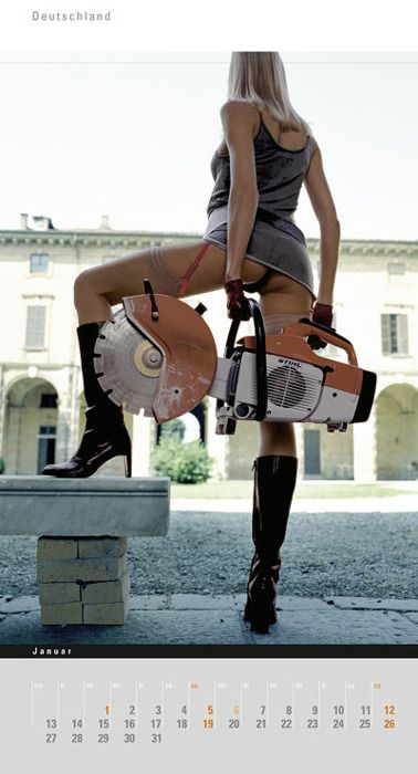 stihl chainsaw girls - Google Search