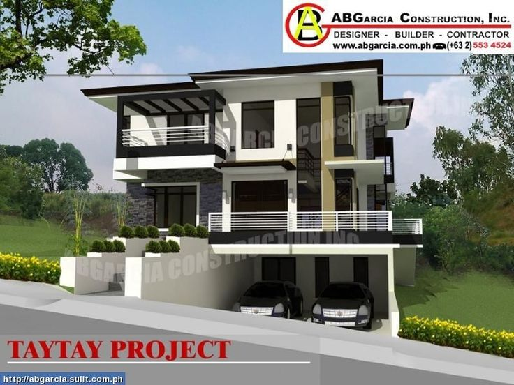 Modern zen house designs philippines modern asian for House garage design philippines