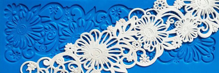New STARTER Collection: Aurora Lace Mat - SC 006. www.crystalcandyonline.com