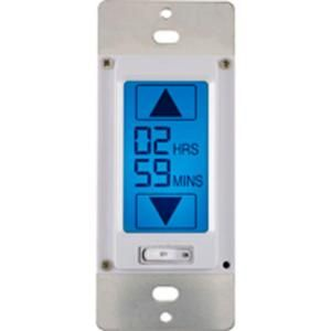 lcd touchscreen in wall countdown timer 49817 at the home depot 25 deck lights outlets. Black Bedroom Furniture Sets. Home Design Ideas
