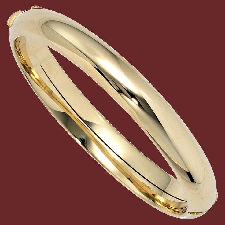 NEU Damen Luxus Armreif Armspange echt Gold 585 Gelbgold 14 Karat 29,3 Gramm